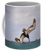 Pelican Diving For Dinner Coffee Mug