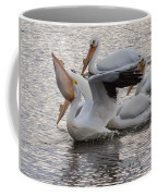 Pelican Having Supper Coffee Mug