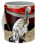 Pelican In Mykonos II Coffee Mug