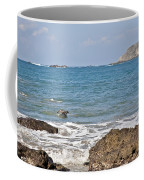 Pelican In The Water Coffee Mug