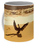 Pelican Spreads It's Wings Coffee Mug
