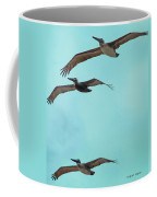 Pelican Trio Coffee Mug