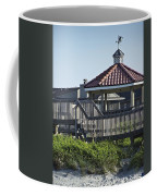 Pelican Weathervane Ocean Isle Norht Carolina Coffee Mug