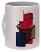 Pelicans Hoop Coffee Mug