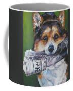 Pembroke Welsh Corgi Fetching Coffee Mug