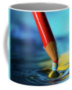 Pencil Drip Coffee Mug
