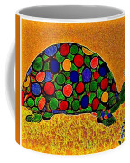 Pencil Sketch And Water Color Turtle Of The Rainbow Coffee Mug