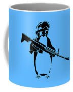 Penguin Soldier Coffee Mug by Pixel Chimp
