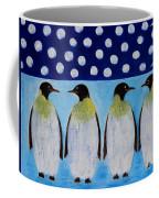 Penguins Talking Coffee Mug