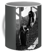 Penguins Under The Boardwalk Coffee Mug