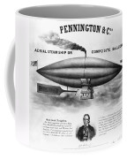 Penningtons Airship, 1850 Coffee Mug
