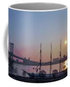 Penns Landing Sunrise Coffee Mug