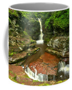 Pennsylvania Red Rock Falls Coffee Mug