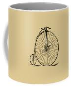 Penny-farthing 1867 High Wheeler Bicycle Vintage Coffee Mug