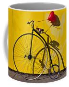 Penny Farthing Love Coffee Mug
