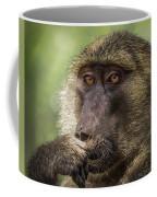 Pensive Baboon Coffee Mug