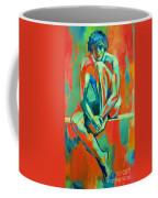 Pensive Male Figure Coffee Mug