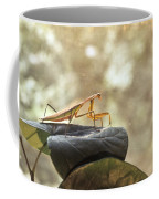 Pensive Mantis Coffee Mug