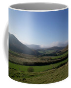 Pentlands With Clouds And Some Sun. Coffee Mug