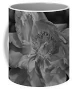 Peonie In Bw Coffee Mug