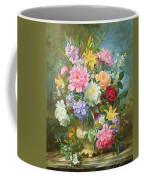 Peonies And Mixed Flowers Coffee Mug