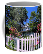 Peonies And Picket Fences Coffee Mug