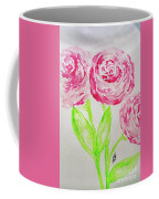 Peonies In Bloom Coffee Mug