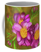 Peonies On Holiday Coffee Mug