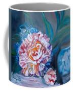 Peony And Chinese Vase Coffee Mug