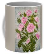 Peony Bush   Coffee Mug