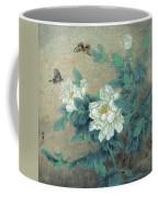 Peony Butterfly Coffee Mug