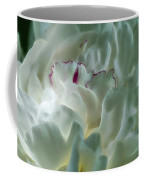 Peony Flower Energy Coffee Mug by Beth Sawickie