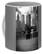 People And Skyscrapers Coffee Mug