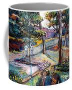 People In Landscape Coffee Mug