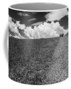 People On The Hill Bw Coffee Mug