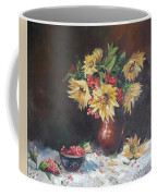 Still-life With Sunflowers Coffee Mug