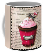 Peppermint Stick Christmas Cupcake Coffee Mug