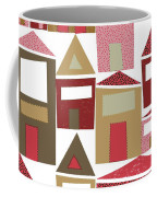 Peppermint Village Coffee Mug