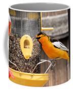 Perched Oriole Coffee Mug