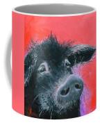 Percival The Black Pig Coffee Mug