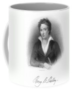 Percy Shelley (1792-1822) Coffee Mug