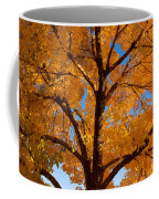 Perfect Autumn Day With Blue Skies Coffee Mug