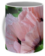 Perfect Peach Poppy Coffee Mug