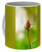 Perfect Red Rose Bud  Coffee Mug