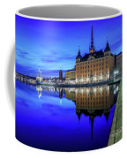 Perfect Riddarholmen Blue Hour Reflection Coffee Mug