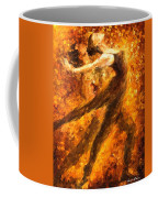 Perfection Of Practice - Palette Knife Oil Painting On Canvas By Leonid Afremov Coffee Mug