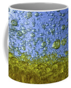 Abstract Olive Oil Coffee Mug