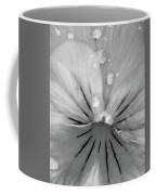 Perfectly Pansy 15 - Bw - Water Paper Coffee Mug