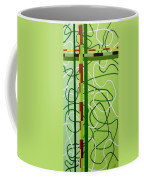 Peridot Party Coffee Mug by Tara Hutton