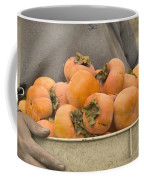 Persimmons In A Bucket Coffee Mug